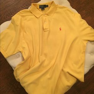 Polo By Ralph Lauren (Yellow w/ Pink Horse)